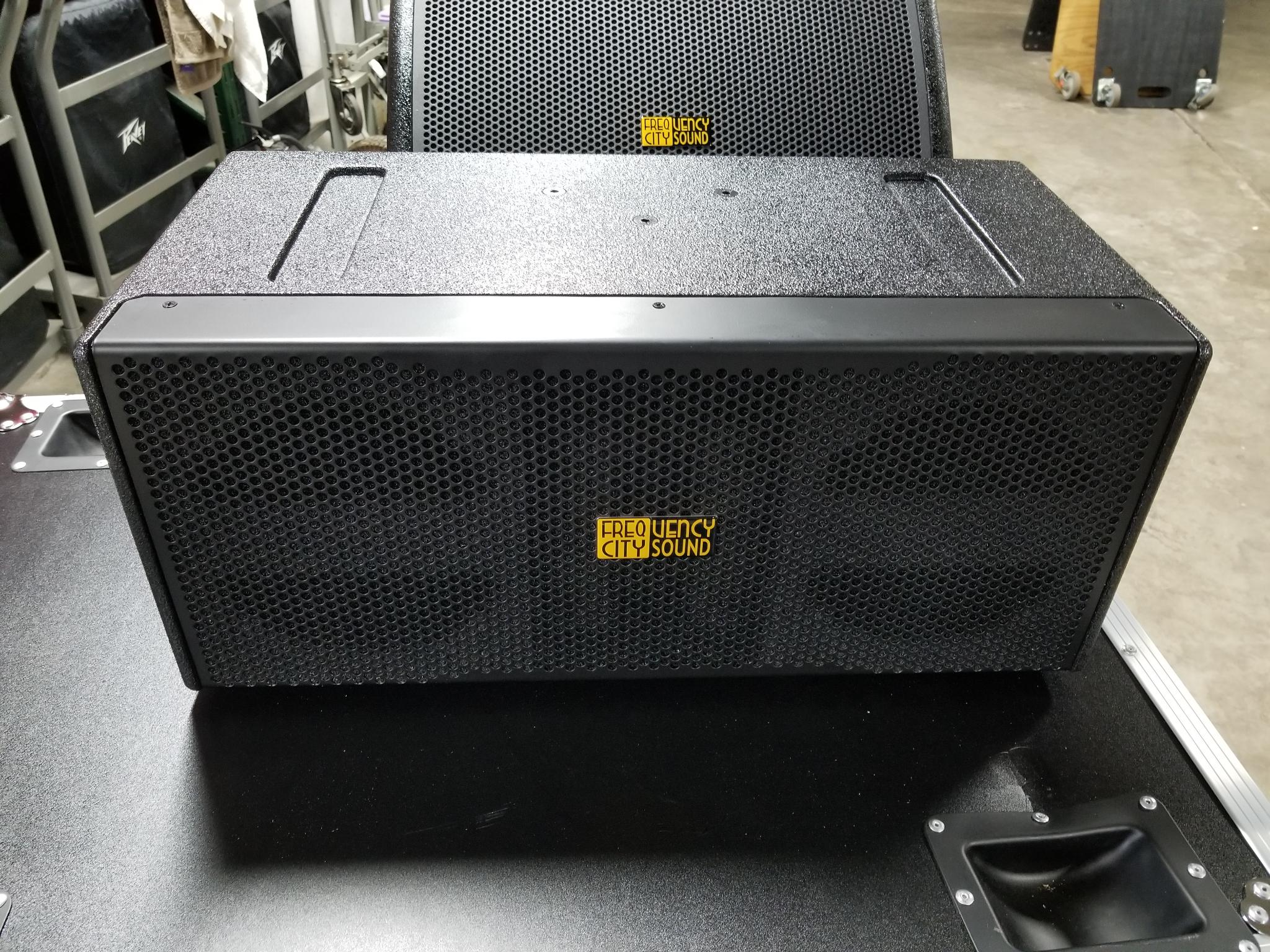 Active Center Fill Speaker Box with Built in DSP