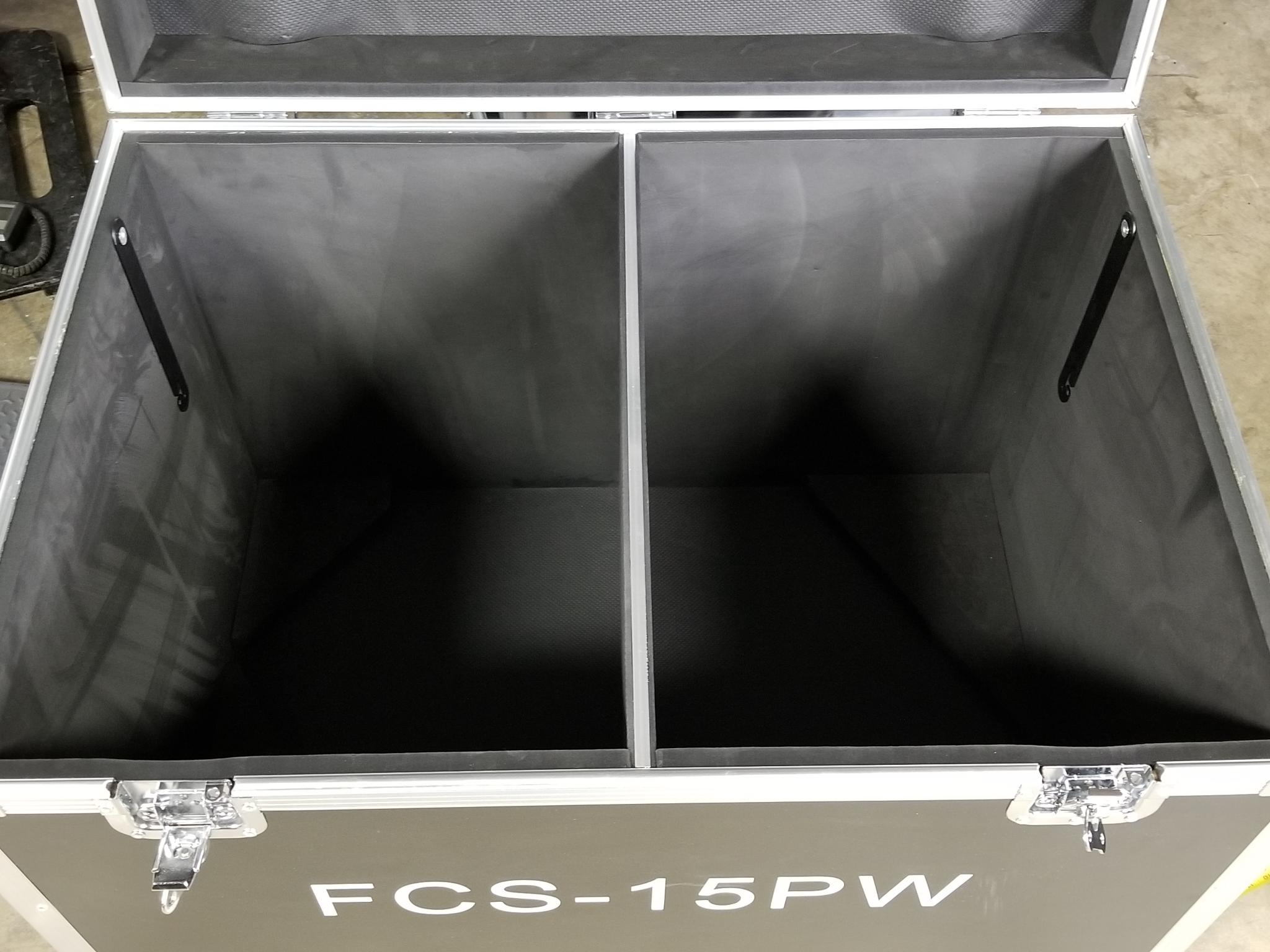 "FCS15PW is an Active powered Bi-Amped 15"" x 1.5"""